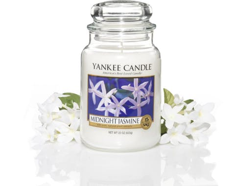 Jasmin De Minuit bougie parfumée moyenne jarre YANKEE CANDLE