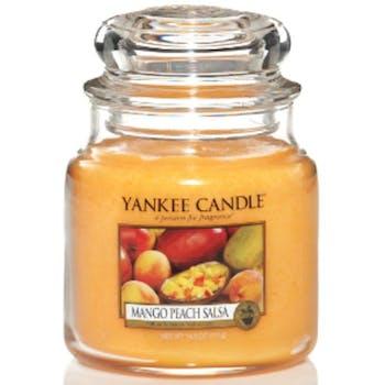 Mangue et Peche bougie parfumée moyenne jarre YANKEE CANDLE