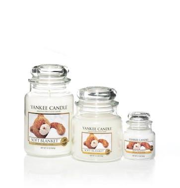 Couverture Douce bougie parfumée petite jarre YANKEE CANDLE