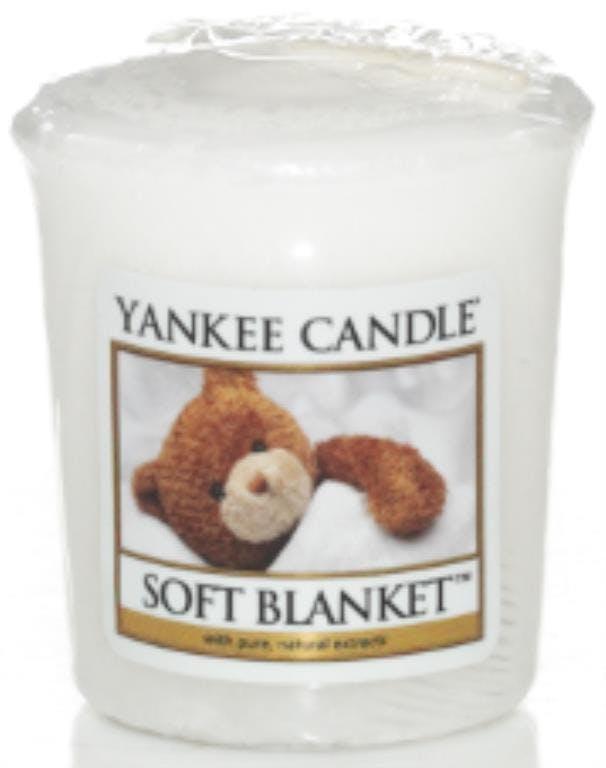 Couverture Douce bougie parfumée votive YANKEE CANDLE