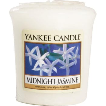 Jasmin De Minuit bougie parfumée votive YANKEE CANDLE