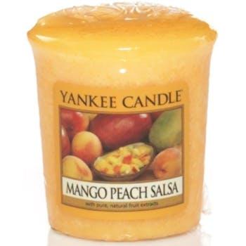 Mangue et Peche bougie parfumée votive YANKEE CANDLE