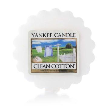 Coton Frais tartelette YANKEE CANDLE