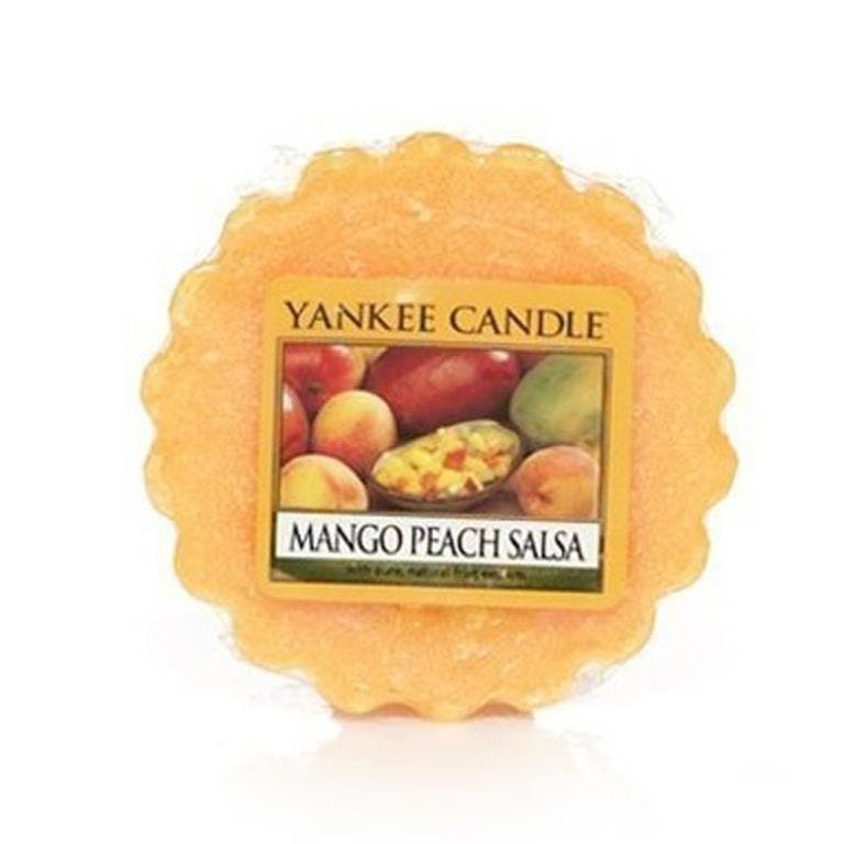 Mangue et Peche tartelette YANKEE CANDLE