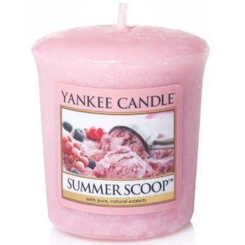 Glace d'été bougie parfumée votive YANKEE CANDLE