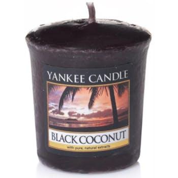 Noix De Coco Noire bougie parfumée votive YANKEE CANDLE