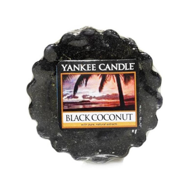 Noix De Coco Noire tartelette YANKEE CANDLE