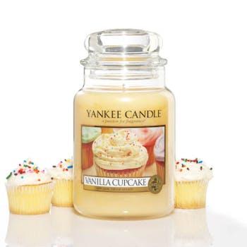 Gâteau A La Vanille bougie parfumée moyenne jarre YANKEE CANDLE