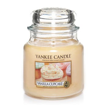 Gâteau A La Vanille bougie parfumée petite jarre YANKEE CANDLE