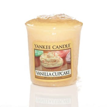Gâteau A La Vanille bougie parfumée votive YANKEE CANDLE