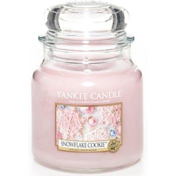 Flocons Sucrés bougie parfumée moyenne jarre YANKEE CANDLE