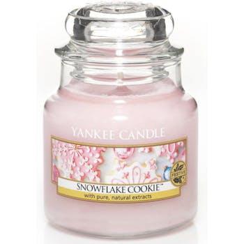 Flocons Sucrés bougie parfumée petite jarre YANKEE CANDLE