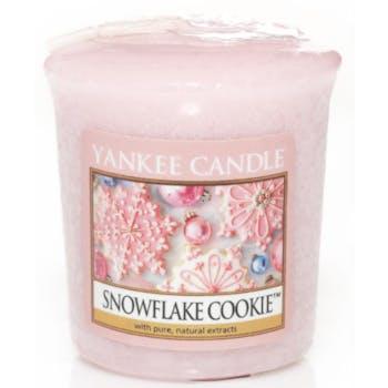 Flocons Sucrés bougie parfumée votive YANKEE CANDLE