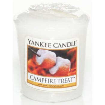 Marshmallows Grillés bougie parfumée votive YANKEE CANDLE
