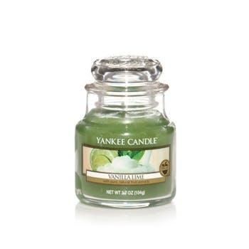 Vanille Citron vert bougie parfumée petite jarre YANKEE CANDLE
