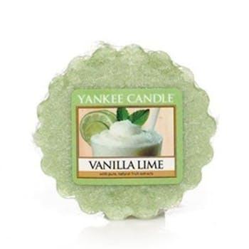 Vanille Citron Vert tartelette YANKEE CANDLE