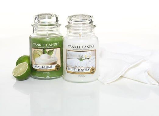 Serviettes Moelleuses bougie parfumée votive YANKEE CANDLE