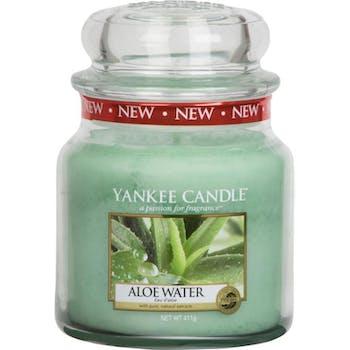 Eau d'Aloé bougie parfumée moyenne jarre YANKEE CANDLE