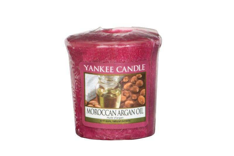 Huile d'Argan bougie parfumée votive YANKEE CANDLE