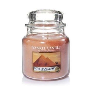 Musc Egyptien bougie parfumée moyenne jarre YANKEE CANDLE