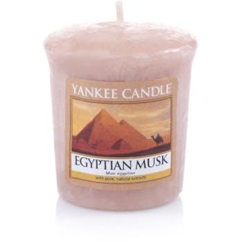 Musc Egyptien bougie parfumée votive YANKEE CANDLE