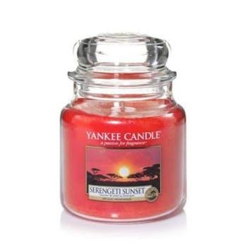 Coucher de soleil au Serengeti bougie parfumée moyenne jarre YANKEE CANDLE