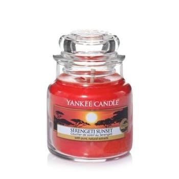Coucher de soleil au Serengeti bougie parfumée petite jarre YANKEE CANDLE