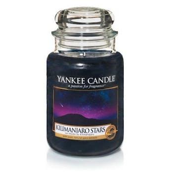 Etoiles du Kilimandjaro bougie parfumée moyenne jarre YANKEE CANDLE
