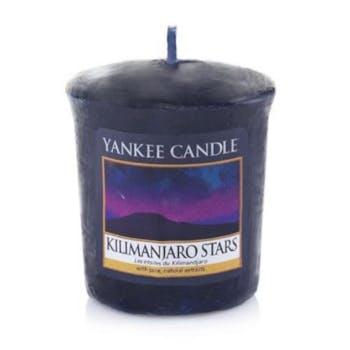 Etoiles du Kilimandjaro bougie parfumée votive YANKEE CANDLE