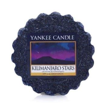 Etoiles du Kilimandjaro tartelette YANKEE CANDLE