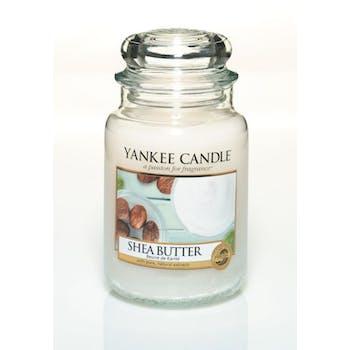 Beurre de Karité bougie parfumée grande jarre YANKEE CANDLE