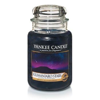 Etoiles du Kilimandjaro bougie parfumée grande jarre YANKEE CANDLE