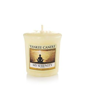 Sérénité bougie parfumée votive YANKEE CANDLE