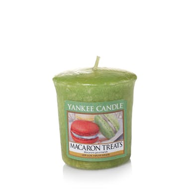 Macarons gourmands bougie parfumée votive YANKEE CANDLE