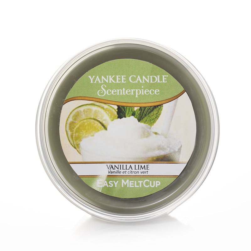Vanille citron vert cire parfumée Easy Melt Cup YANKEE CANDLE