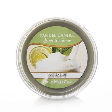 Vanille citron vert cire parfumée Easy Melt Cup YANKEE CANDLE