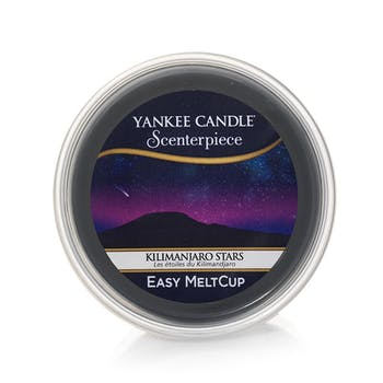 Etoiles du Kilimandjaro cire parfumée Easy Melt Cup YANKEE CANDLE