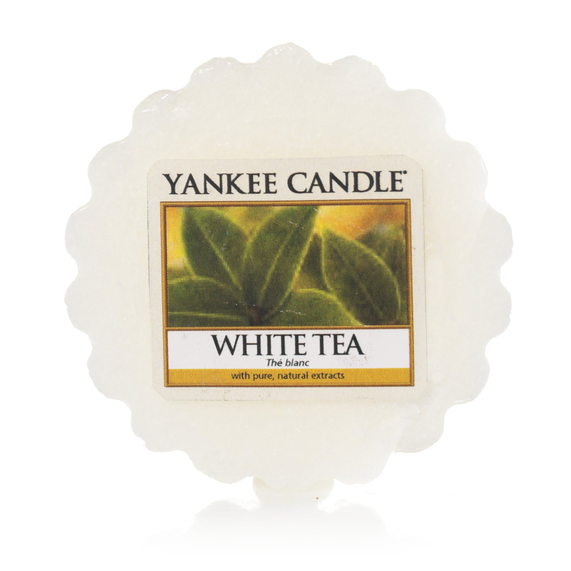 Thé Blanc tartelette YANKEE CANDLE