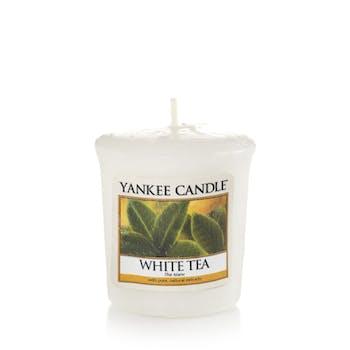 Thé Blanc bougie parfumée votive YANKEE CANDLE