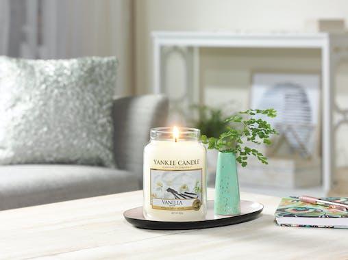 Vanille bougie parfumée moyenne jarre YANKEE CANDLE