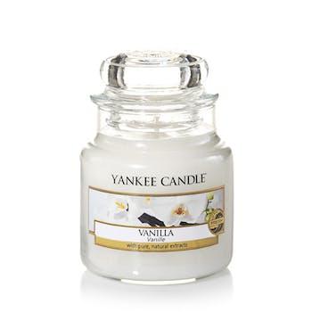 Vanille bougie parfumée petite jarre YANKEE CANDLE