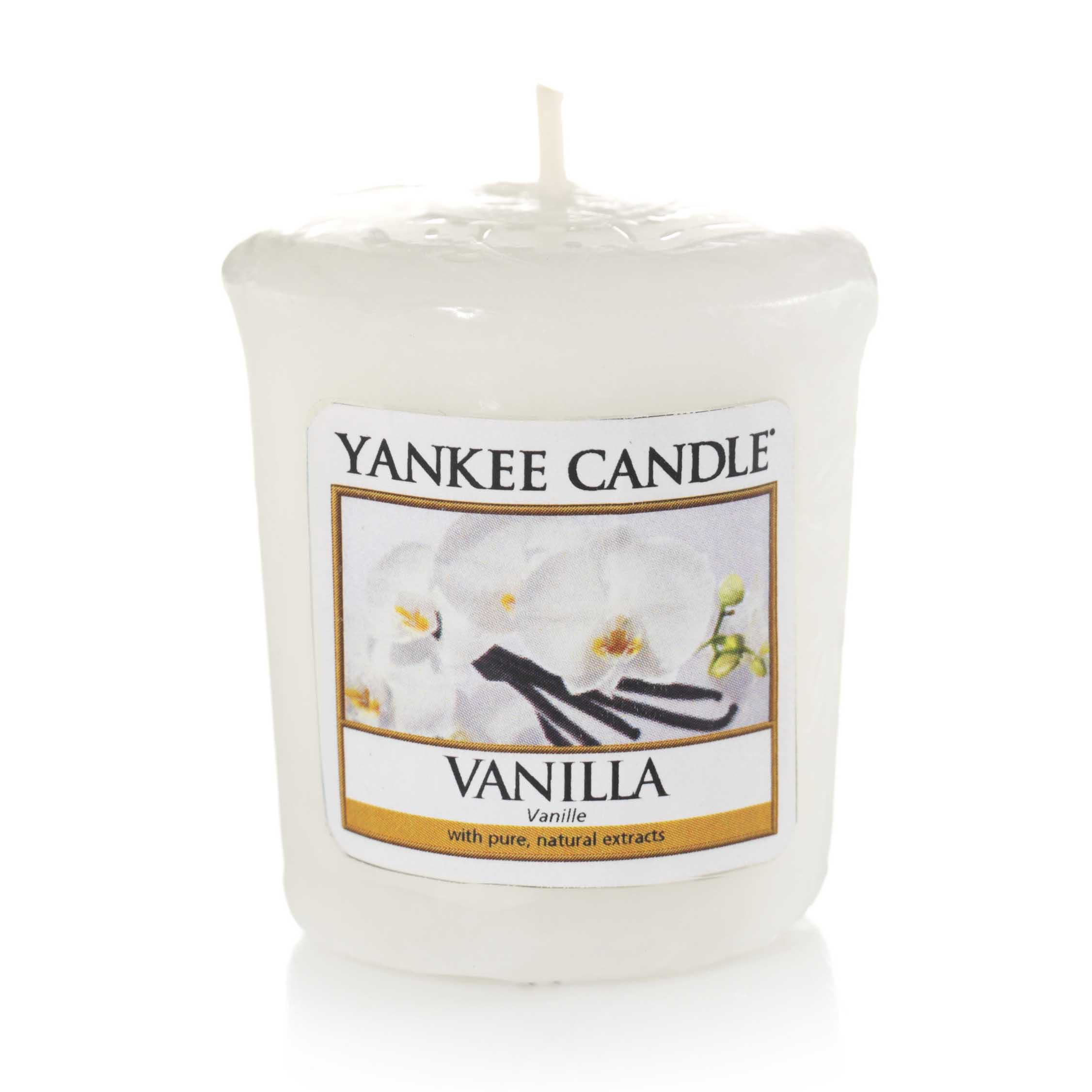 Vanille bougie parfumée votive YANKEE CANDLE