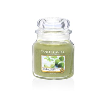 Mojito Cubain bougie parfumée moyenne jarre YANKEE CANDLE