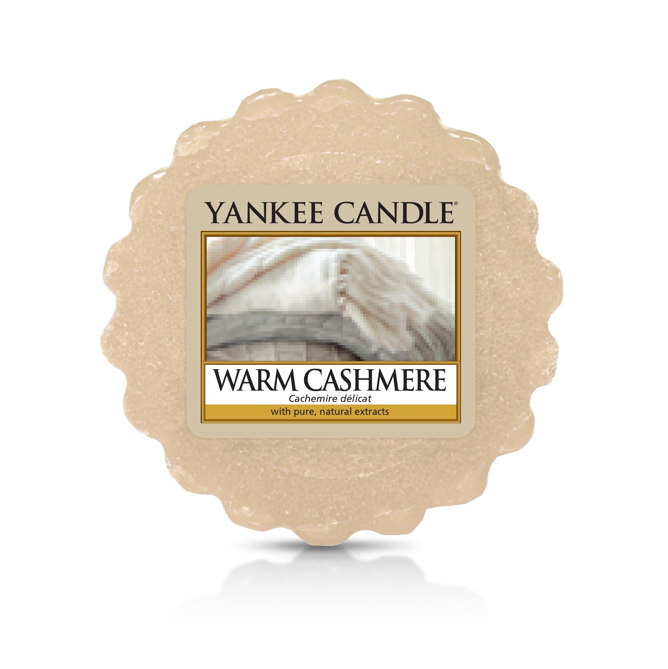 Cachemire Délicat tartelette YANKEE CANDLE