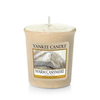 Cachemire Délicat bougie parfumée votive YANKEE CANDLE