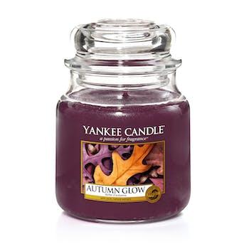 Reflets d'Automne bougie parfumée moyenne jarre YANKEE CANDLE