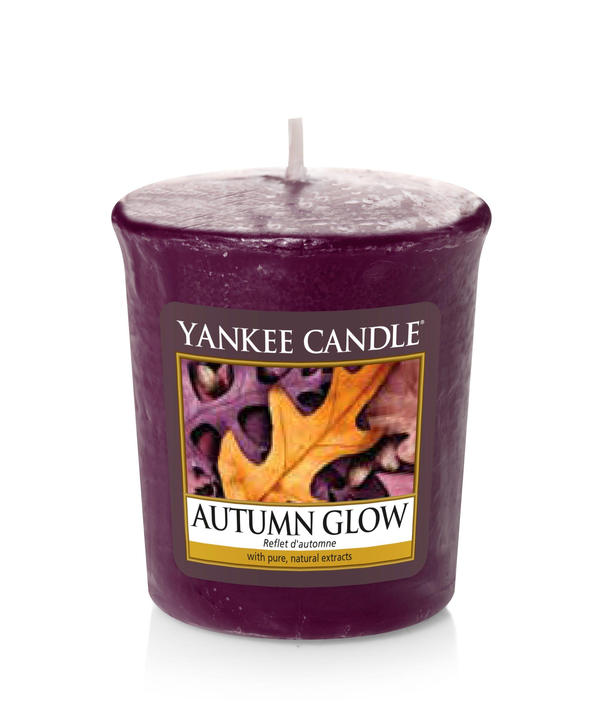 Reflets d'Automne bougie parfumée votive YANKEE CANDLE