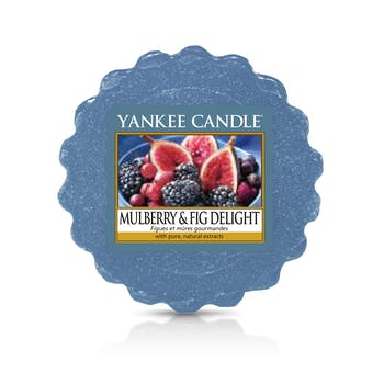 Figues et Mûres Gourmandes tartelette YANKEE CANDLE