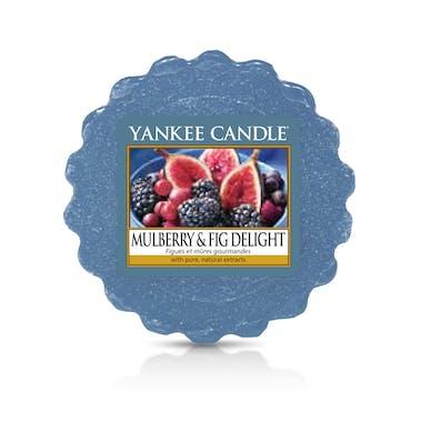 Figues et Mûres Gourmandes tartelette YANKEE CANDLE