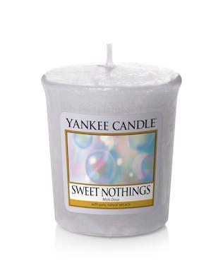 Mots doux bougie parfumée votive YANKEE CANDLE